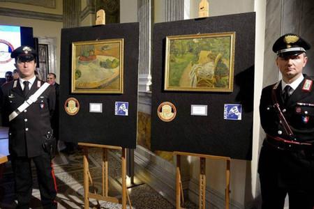Dos obras de grandes maestros del impresionismo recuperadas 44 años después de ser robadas