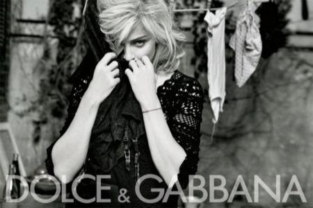 Todas las imágenes de Madonna para Dolce & Gabbana, campaña Primavera-Verano 2010