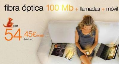 Orange renueva sus tarifas de fibra: Llegan los 30 megas y su versión Canguro