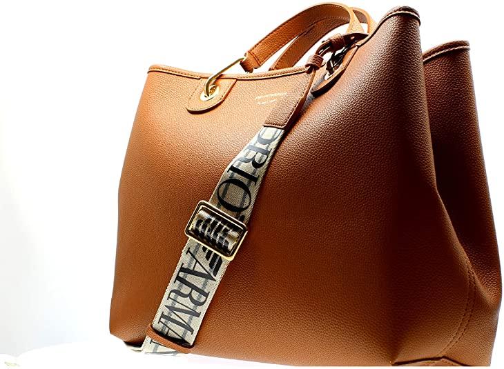 Emporio Armani Bolso My Bag piel ecoefecto ciervo Y3D165 YFO5B Dimensiones 37 x 27 x 15 cm