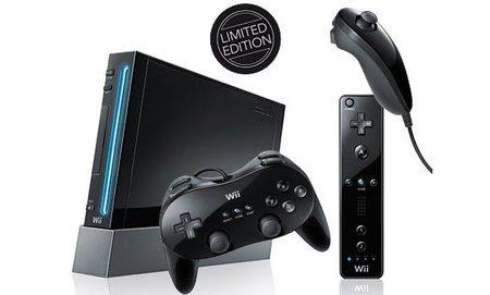 La Wii de color negro llegará a España el 20 de noviembre