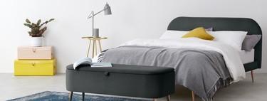 11 originales soluciones de almacenaje para guardar ordenadamente cosas, junto a la cama, en el dormitorio