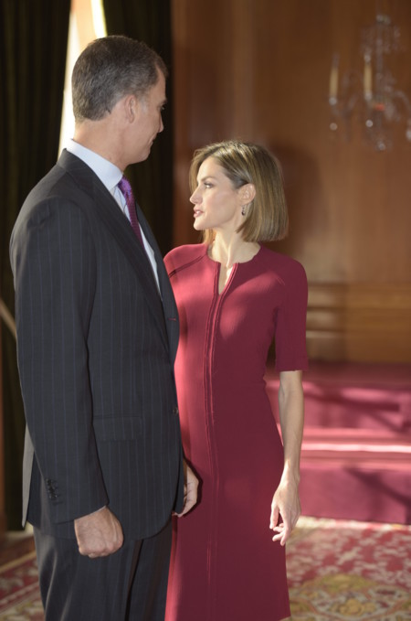 La reina Letizia repite vestido en las fotos oficiales de los Premios Princesa de Asturias