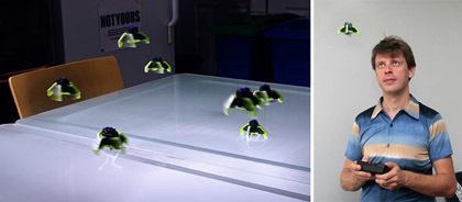 MicroFly: pequeños OVNIs radiocontrol