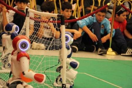 Los Hidalgos, campeones de Europa de fútbol de robots