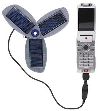 Cargador solar para móviles
