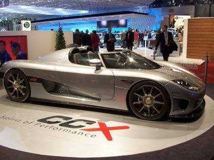 Presentación Koenigsegg CXX en el salón de Ginebra