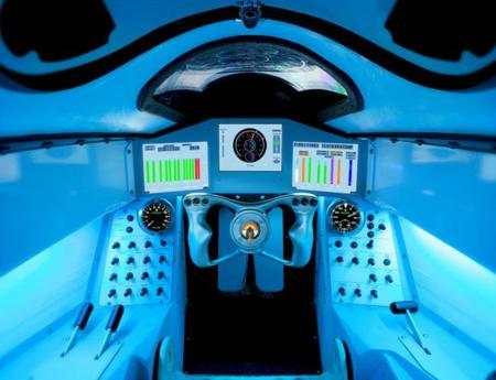 Así es el centro de conducción del coche de los 1.600 km/h: imagen de la semana