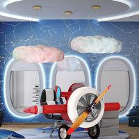 Los seguidores de Disney pueden despegar con un mobiliario hecho realidad inspirado en la película Aviones