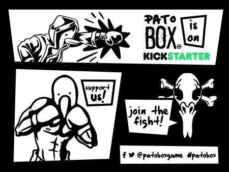 Queda una semana para el cierre de campaña Pato Box en Kickstarter