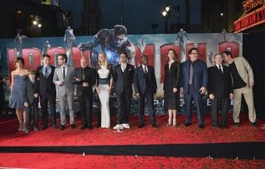 Gwyneth Paltrow o cómo ir en plan comando al estreno de 'Iron Man 3'