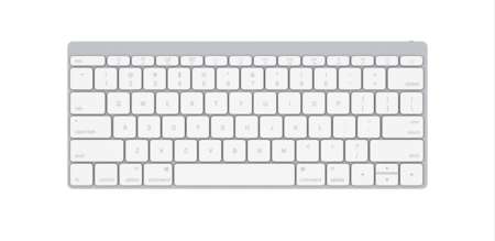 Keyboard Front White1