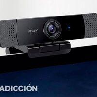 Si todavía sigues sin webcam esta de AUKEY te costará muy poco sólo hoy en Amazon