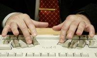 Teclado para PC en braille