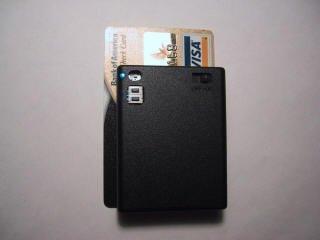 Amplificador del tamaño de una tarjeta de crédito