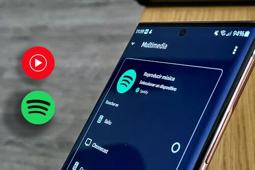 Cómo cambiar YouTube Music por Spotify para escuchar música en un altavoz Nest con Google Home