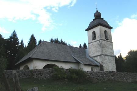 Santa Catalina en Bled Eslovenia
