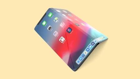 Iphone Plegable Pantalla Flexible Concepto