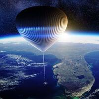 """La forma """"menos cara"""" de llegar casi al espacio: un globo con bar, baño, WiFi y ventanas con vista al horizonte por 2.5 millones de pesos"""