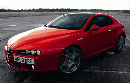 Alfa Romeo Brera S, sólo para Reino Unido
