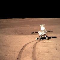 367,25 metros es la distancia que ya ha recorrido el rover chino en la cara oculta de la Luna