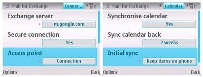 Nueva versión de Google Sync para Symbian S60