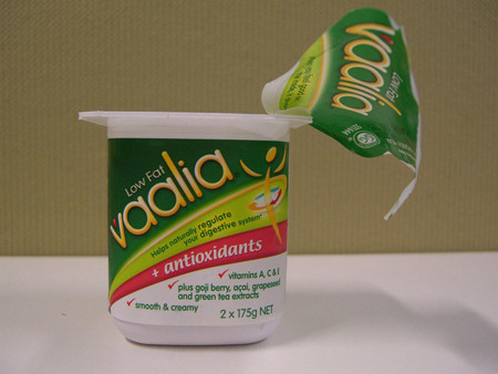 Yogurt reducido en grasa