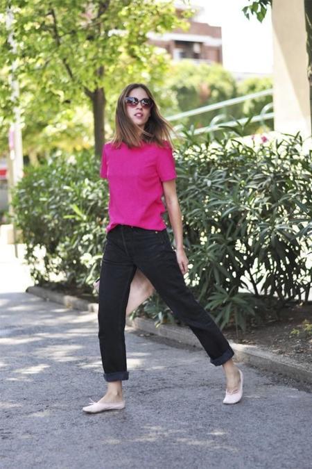 saray look rosa