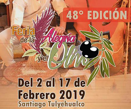 Feria De La Alegria Y El Olivo Santiago Tulyehualco 2019 Cdmx
