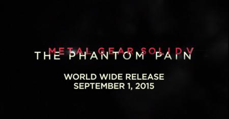 Metal Gear Solid V Fecha De Lanzamiento