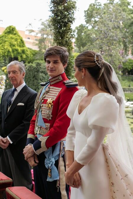 vestido de novia de Belén Corsini
