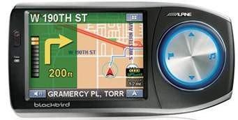 Alpine fusiona GPS y MP3