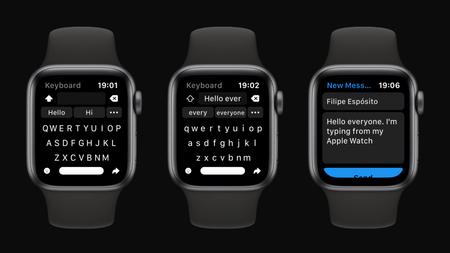 Shift Keyboard Apple Watch App 2
