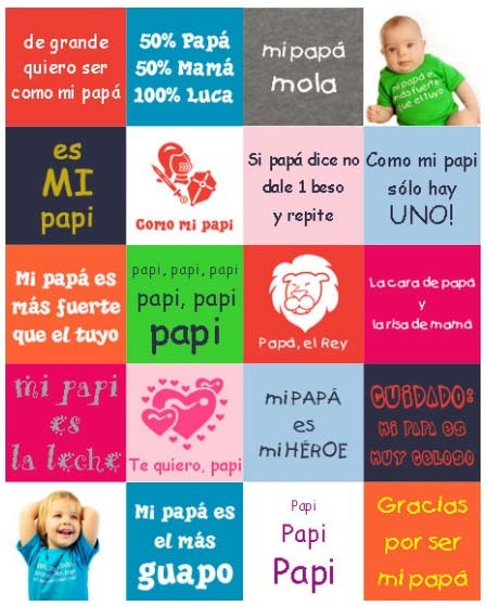 Día del Padre: camisetas para que los peques lo sorprendan