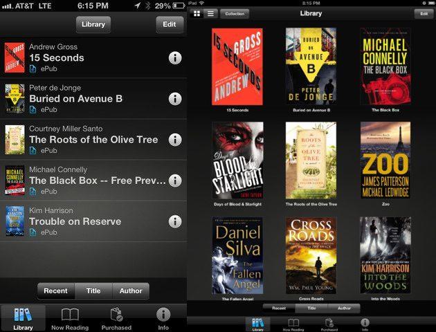Sony Reader para iOS