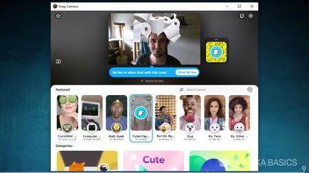 Snap Camera App