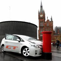 El street marketing de 'The Grand Tour' tiene al Toyota Prius como víctima