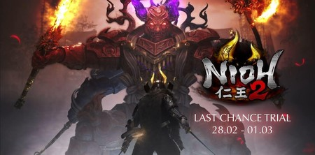 Nioh 2 nos permitirá repartir tajos a finales de febrero con una nueva demo temporal
