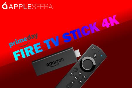 Ofertón del Fire TV Stick 4K por el Prime Day 2020: más de 5.000 apps, Dolby Atmos y Dolby Vision por 39,99 euros