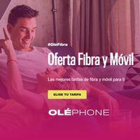 Oléphone estrena combinados de fibra y móvil, incluidos datos ilimitados por menos de 49 euros