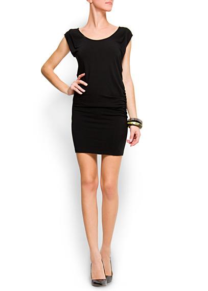 Mango mini-vestido negro