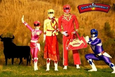 Power Rangers Chándal español