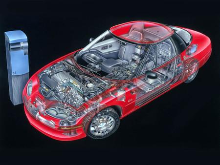General Motors Ev1 Cutaway