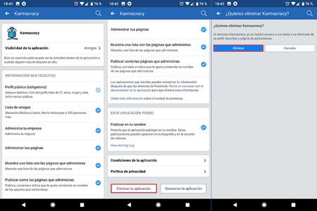 Facebook Privacidad Apps