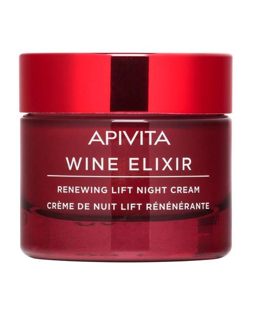 Crema de Noche Wine Elixir Apivita