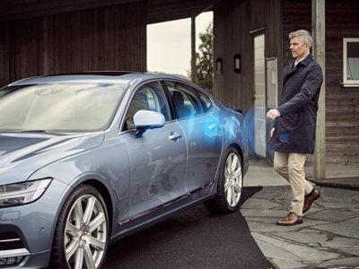Volvo quiere decirle adiós a las llaves del coche, mejor utiliza tu teléfono móvil