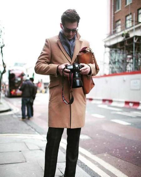 Los Hombres Mas Elegantes De Londres Le Hacen Frente Al Frio Con La Armadura Perfecta El Abrigo 04
