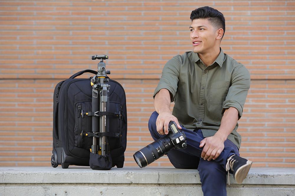 Vanguard Alta Sky y Alta Fly, nueva gama de maletas y mochilas para fotógrafos profesionales (en especial los que usan drones)