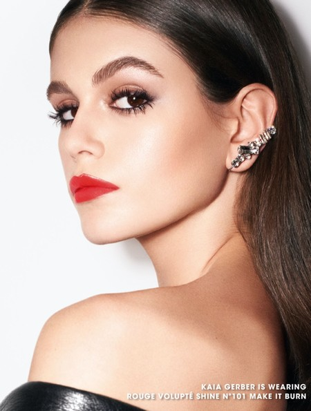 Kaia Gerber Ysl Beauty Rouge Volupte Campaign03