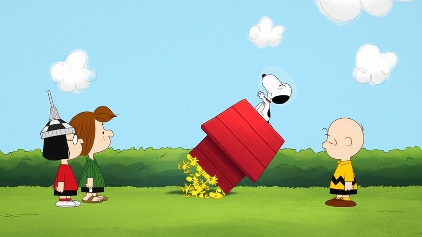 Un laboratorio de boceto inspirado en 'Snoopy in Space' asistirá próximamente a las Apple™ Stores